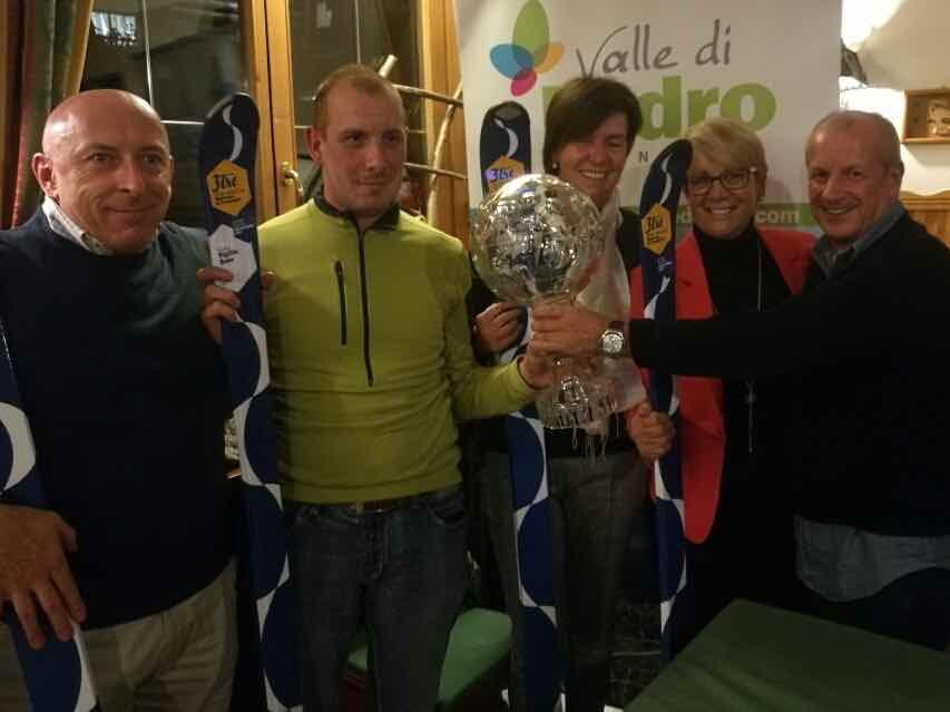 La Coppa, il Gruppo di Ledro con i presidenti Conci, Demadonna e Mora