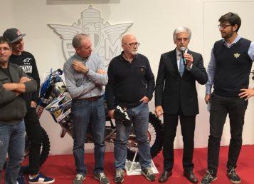 Presentazione-Mondiale Enduro GP Città Edolo 2018