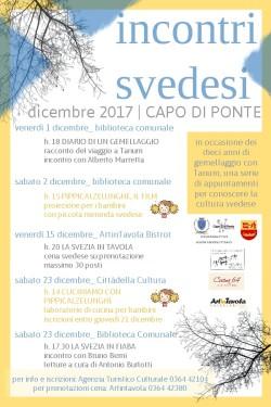 Capo di Ponte: incontri svedesi per festeggiamenti 10 anni di gemellaggio con Tanum