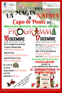 """""""La Magia del Natale a Capo di Ponte"""""""