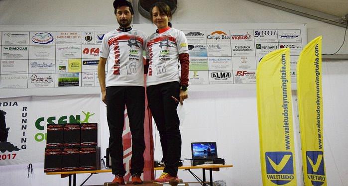 vincitori tappa Pico Denisa e Cristian foto Valetudo 1