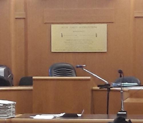 Aula Alessandrini tribunale Trento 1