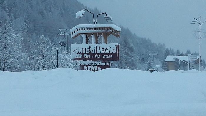 Ponte di Legno neve