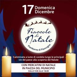 """3^ edizione """"Fiaccole di Natale"""" Piamborno"""
