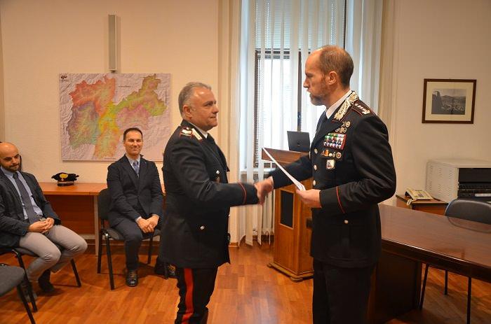 carabinieri Trento riconoscimenti 1