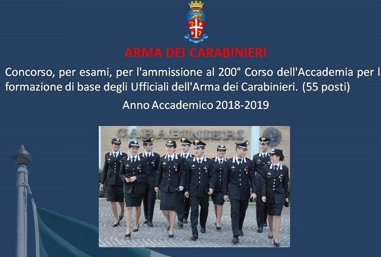 Carabinieri concorso 1