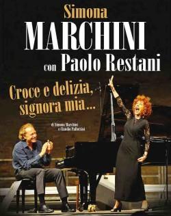 """Danza Val di Non: appuntamento della stagione di prosa """"Croce e delizia, Signora mia"""" con Simona Marchini"""