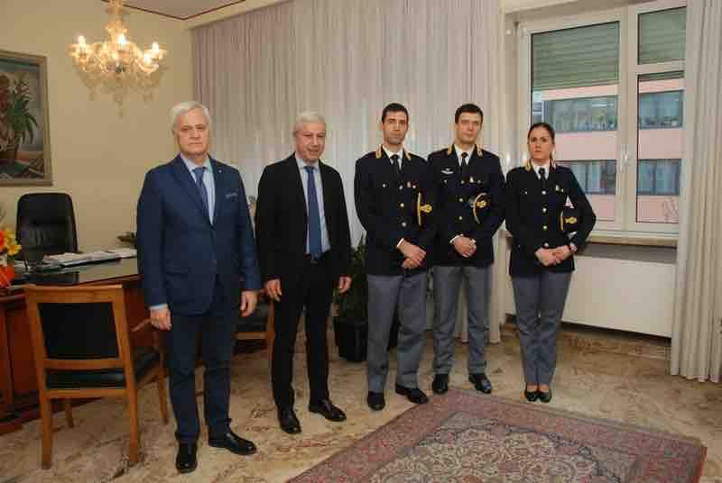 Questura di Trento: presentati i tre nuovi funzionari della Polizia ...
