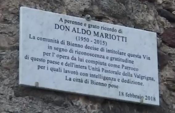 Bienno don Mariotti