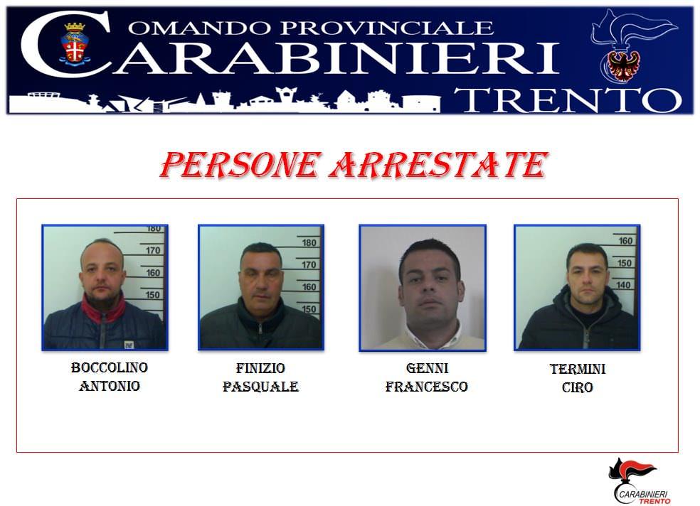 Arrestati - Trento