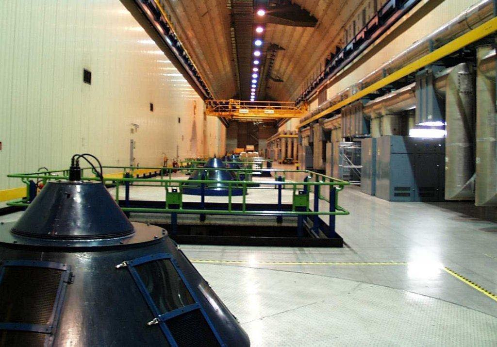 sala macchine centrale enel edolo