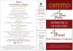 """Cemmo Fest e 4porte4piazze """"4passi Tra Natura e Cultura"""""""