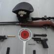 armi carabinieri Cles 1