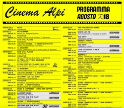 Programmazione Cinema Alpi di Temù