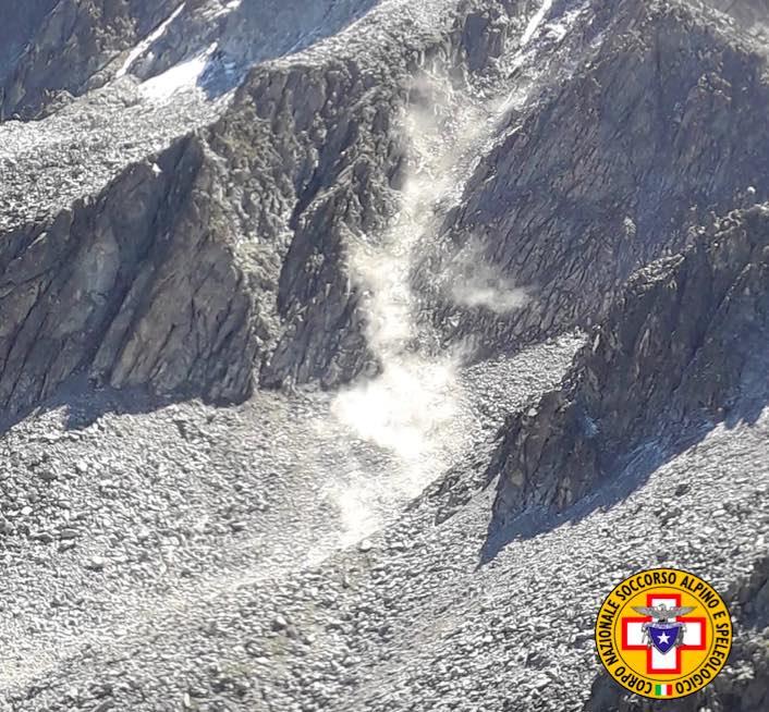 soccorso alpino frana 2