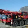 vecchia - autogru - Bolzano vigili fuoco