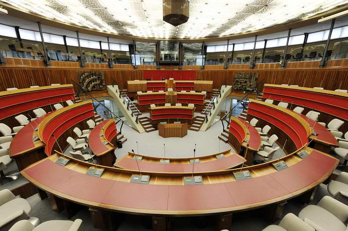 Aula Consiglio provinciale - Trento