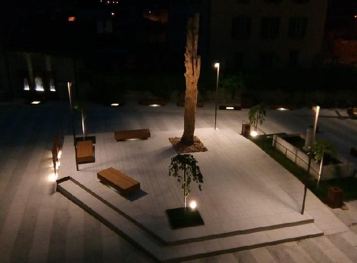 Edolo piazza Tognali