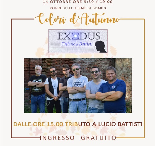 Darfo Boario - Exodus - tributo Battisti