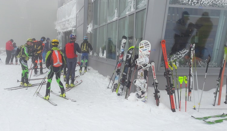 sciatori - Passo Presena