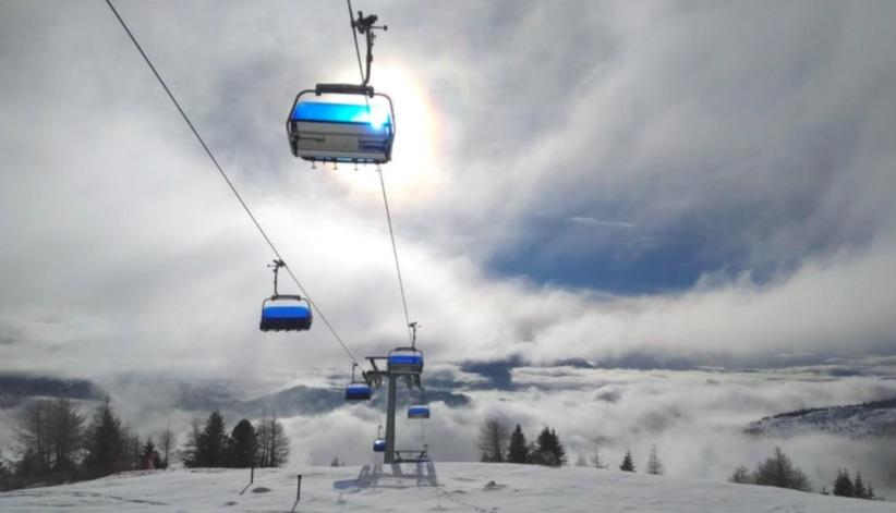 seggiovia neve impianti folgarida marilleva