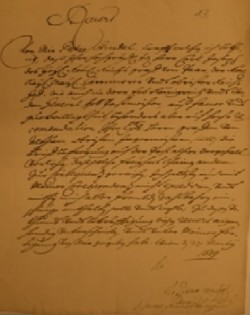 Manoscritto pittore Strudel - Cles