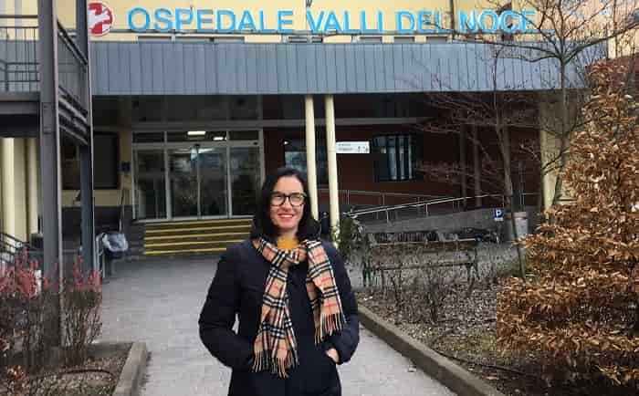 Paola Demagri -ospedale Valli del Noce