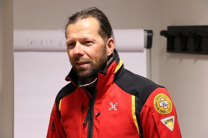 Mauro Mabboni - presidente Soccorso Alpino Trentino