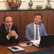 L'assessore Giuliano Vettorato e il sovrintendente Vincenzo Gullotta Foto USP