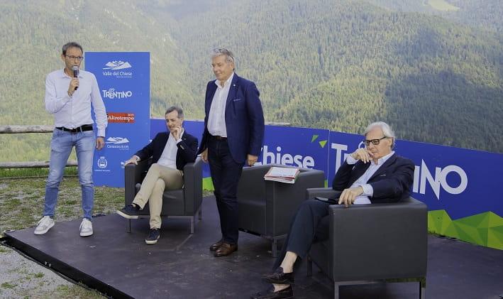 Failoni, Mantovan, Decarli e Sgarbi ad AltroTempo © foto Jury Corradi