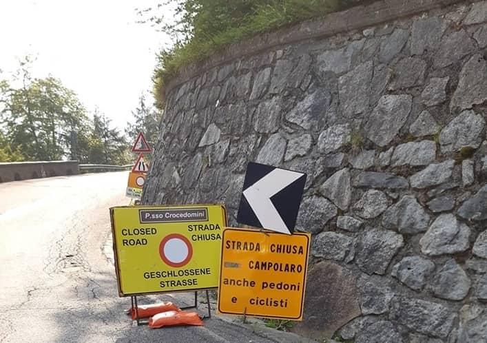 Strada Passo Crocedomini