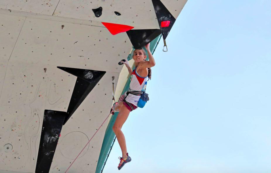 rogora arrampicata