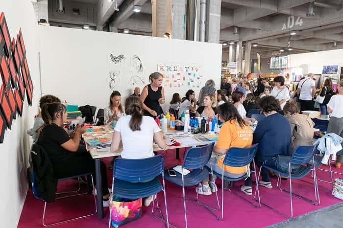 Kreativ workshop © foto Marco-Parisi
