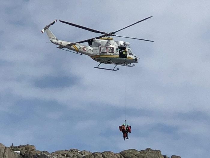 Sagf Finanza elicottero 1
