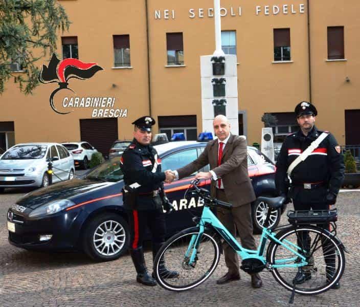 Carabinieri - bici - rubate