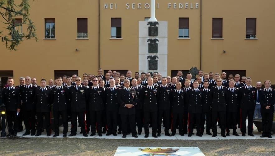 Carabinieri premiati Brescia