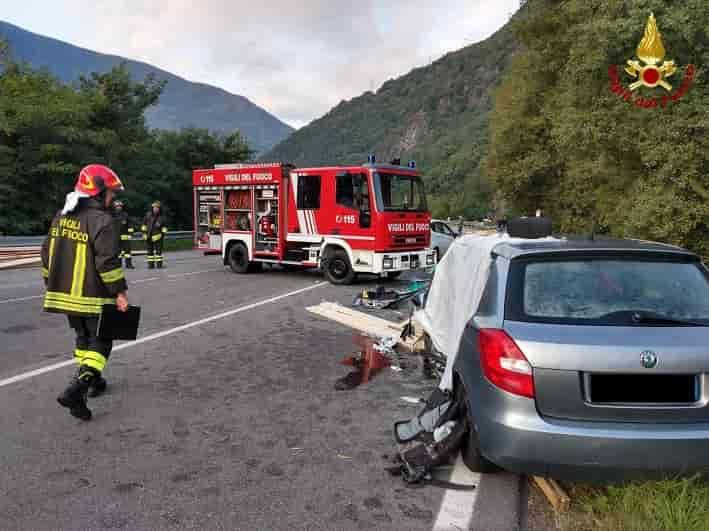 Incidente Ardenno - Vigili del fuoco Gdv