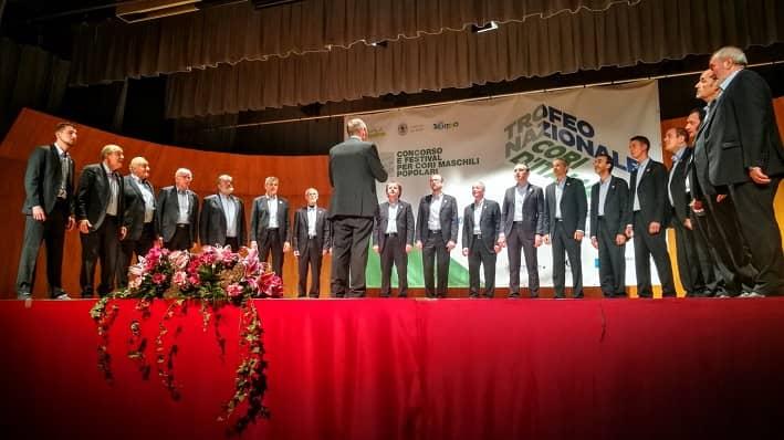 L'esibizione del Coro Montecimon - Valle di ledro