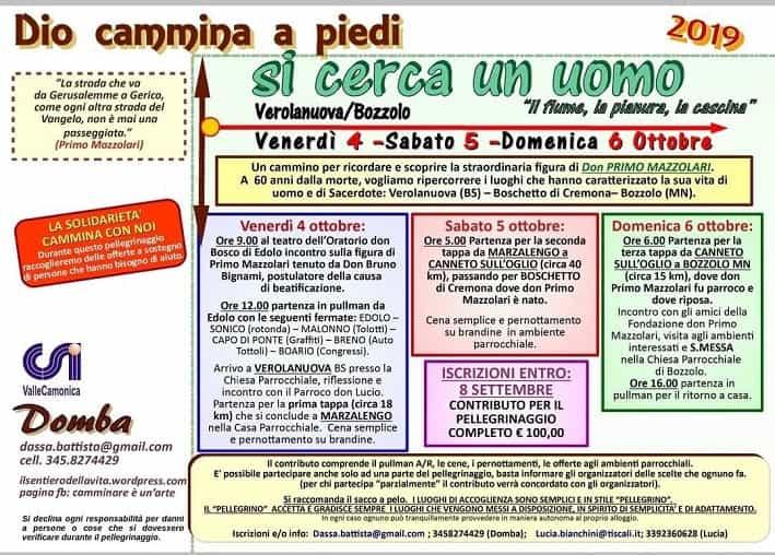 Pellegrinaggio Don Primo Mazzolari 1