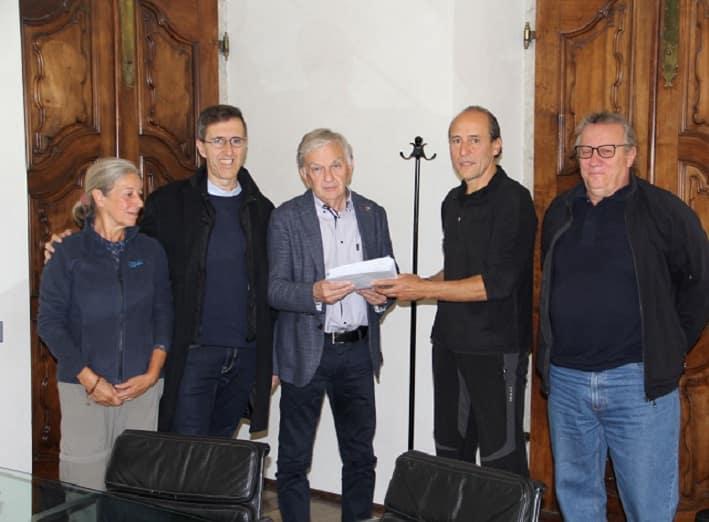 Petizione - lago Santo Trento