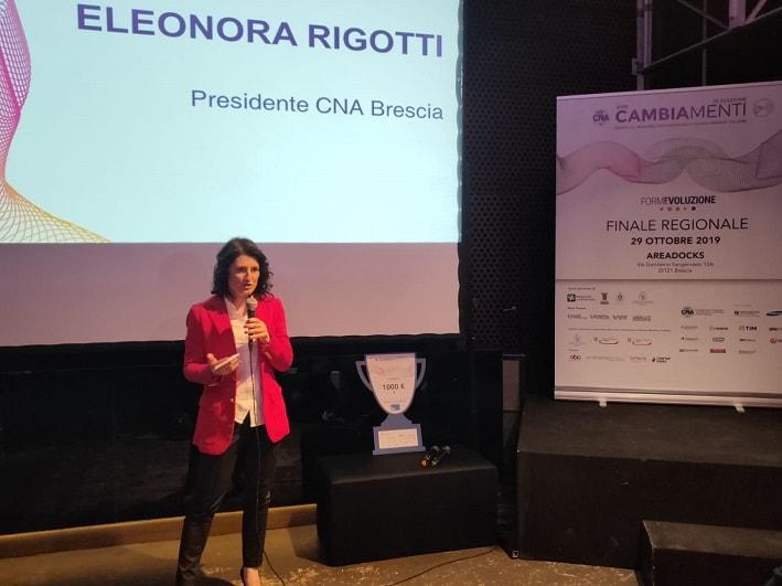Presidente Eleonara Rigotti Cna Brescia