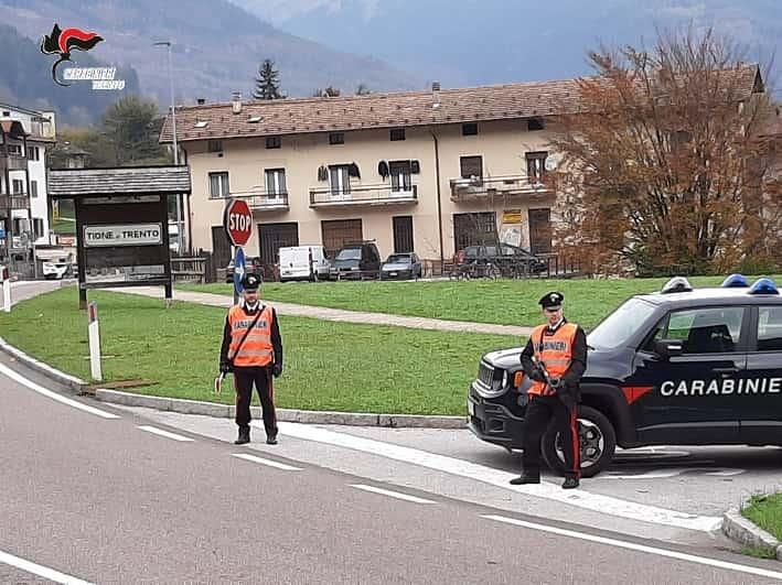 carabinieri Tione di Trento