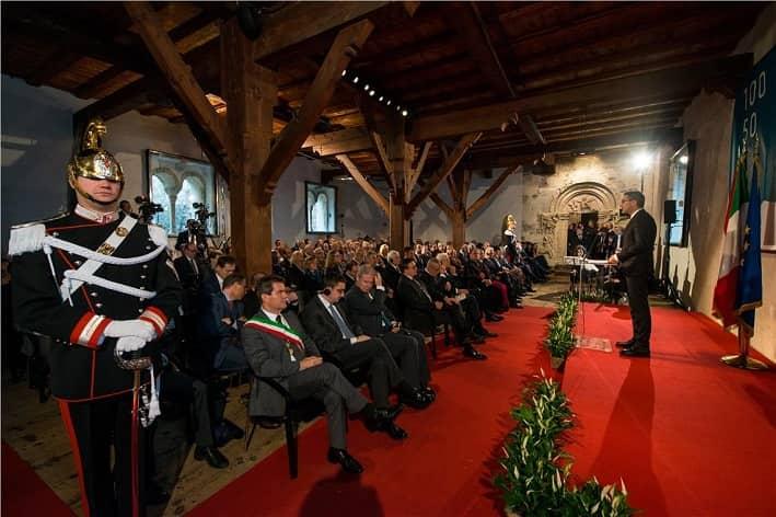 Kompatscher discorso a Castel Tirolo © foto ASP-Daldos