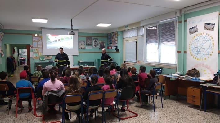 Malonno - Polizia Stradale - scuola 01