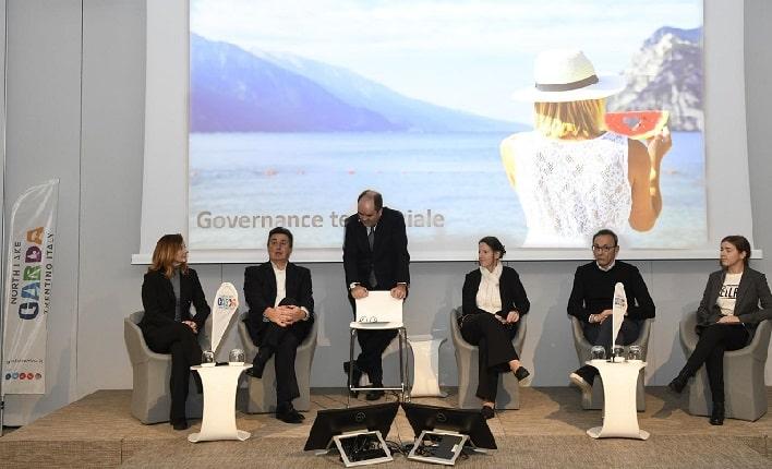 Roberta Maraschin, Marco Benedetti, Alberto Faustini, Linda Osti, Roberto Failoni e Francesca Musolino © foto Galas- Garda Trentino