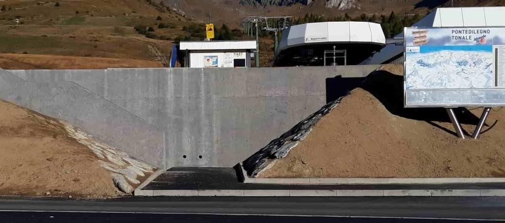 Tonale - nuovo ingresso- seggiovia Valbiolo