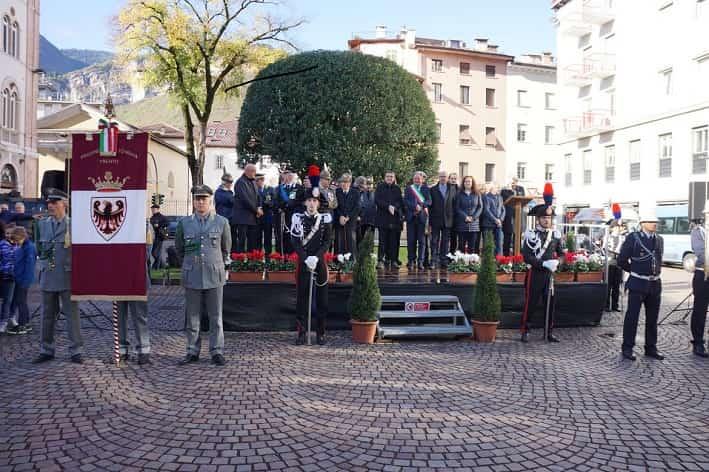 Trento celebrazioni 4 novembre