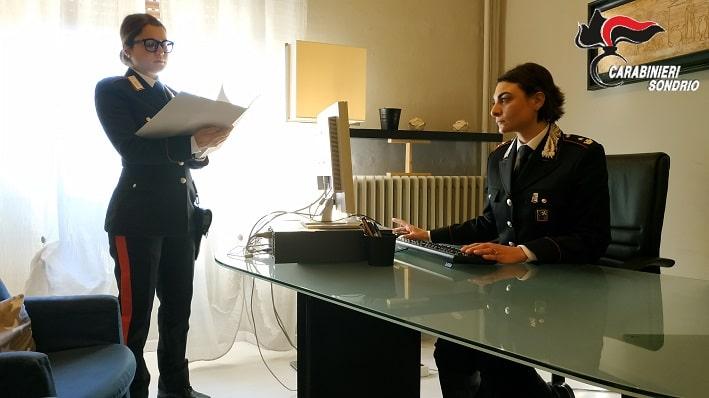 carabinieri - Sondrio - violenza - donne