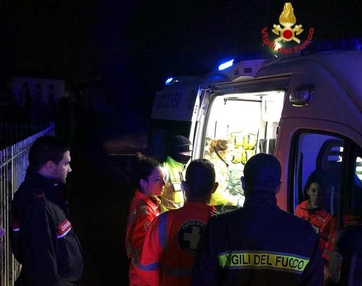 intervento - vigili del fuoco - Bresciano