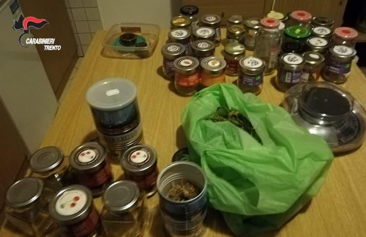 preparazione e confezionamento droga - Borgo Valsugana